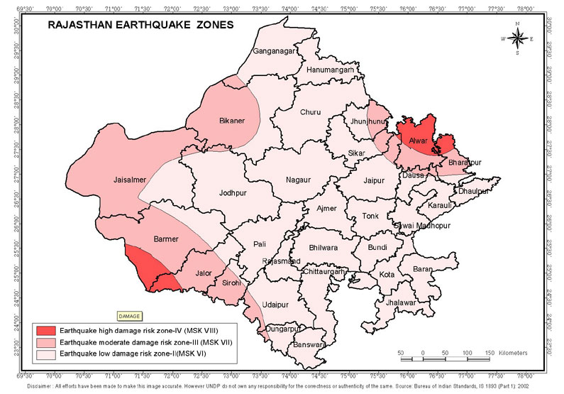 Earthquake zones publicscrutiny